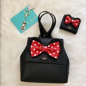 Kate spade Minnie Mouse 3 piece set
